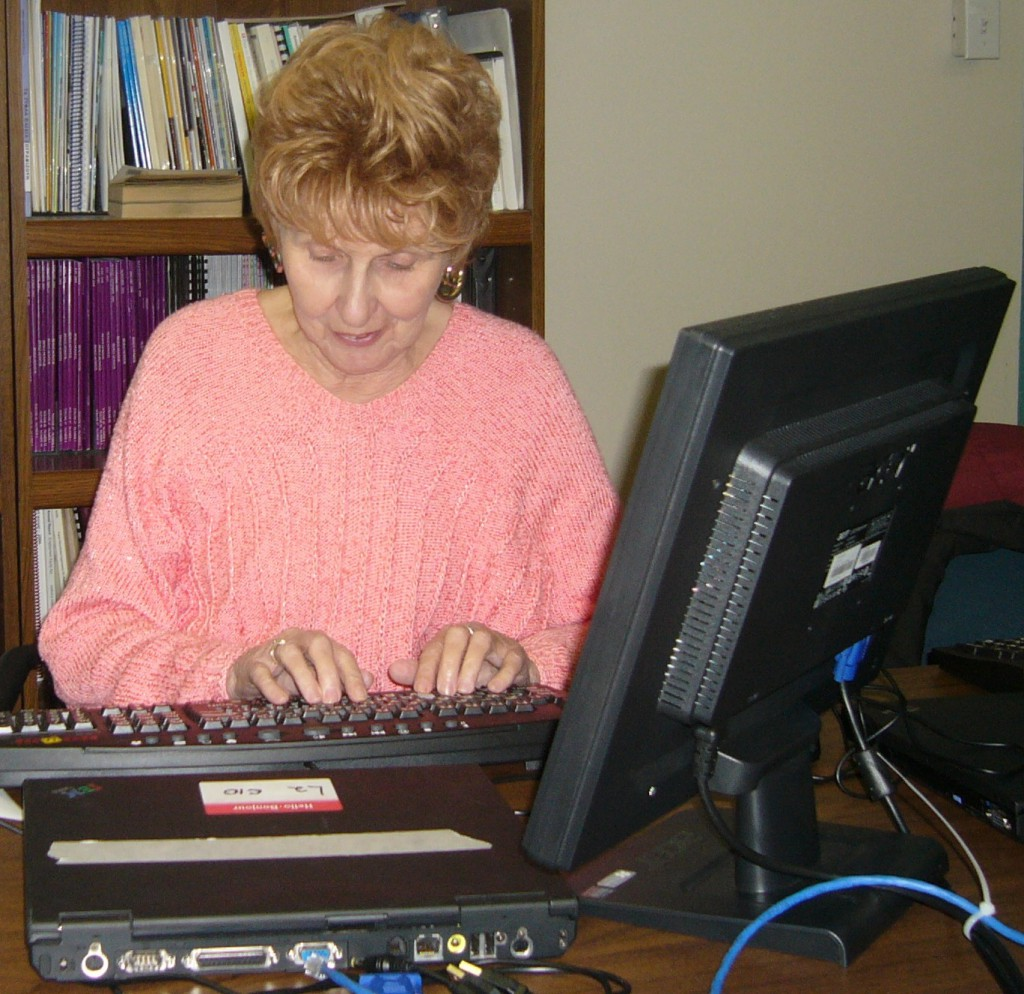 Student training on a CCB Provided Computer