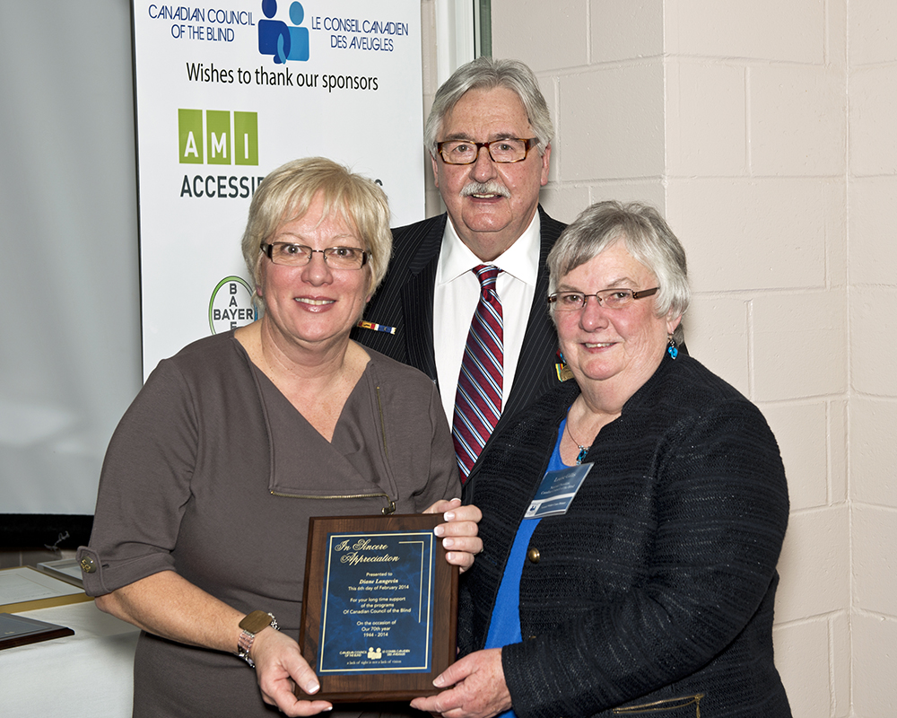 Diane Langevin VIA Rail Corporate Award