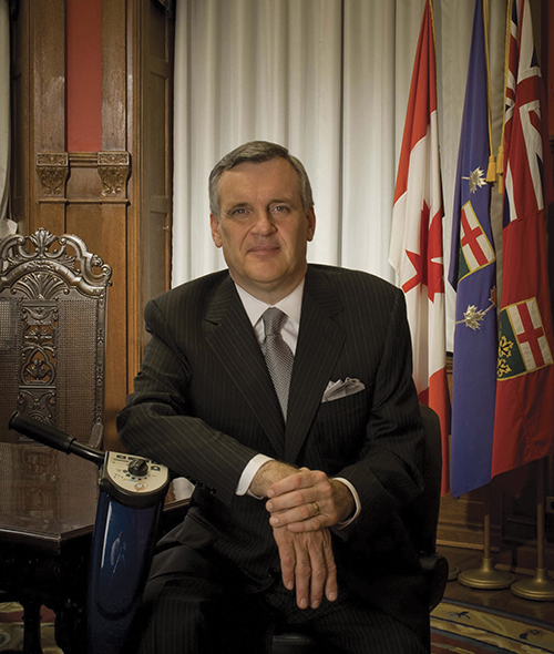 Ontario Lieutenant Governor official photographs