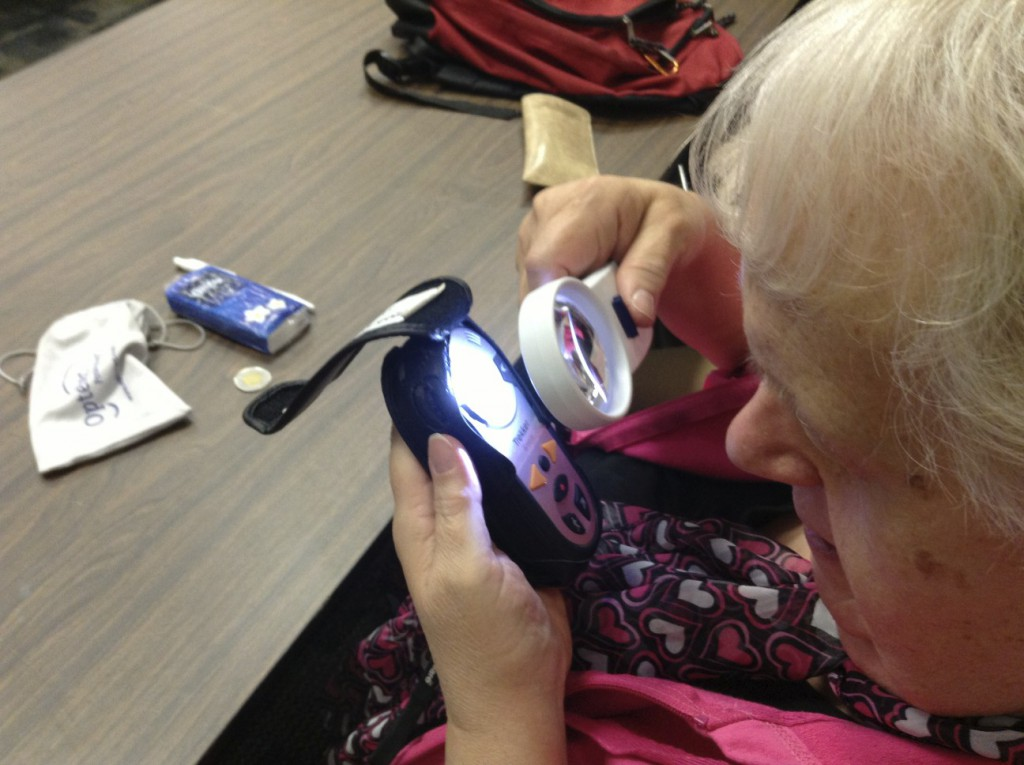 GTT Member using a device