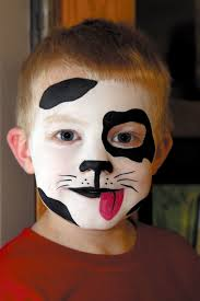 halloween kid cow face