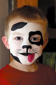 halloween kid cow face