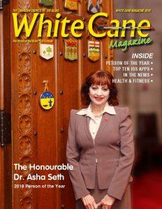 White Cane Magazine Cover