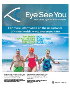 Eye See You advertisement from Bayer