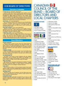 CCB Board of Directors and local chapters page 1