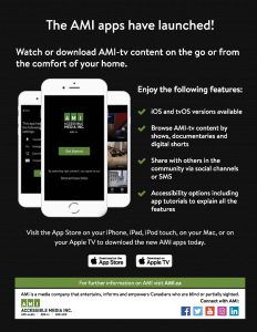 The AMI apps have launched - advertisment