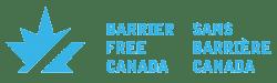 Barrier Free Canada/ Sans Barriere Canada logo
