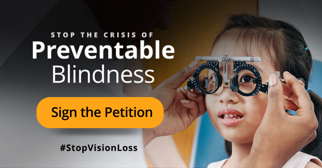 Stop the crisis of preventable blindness